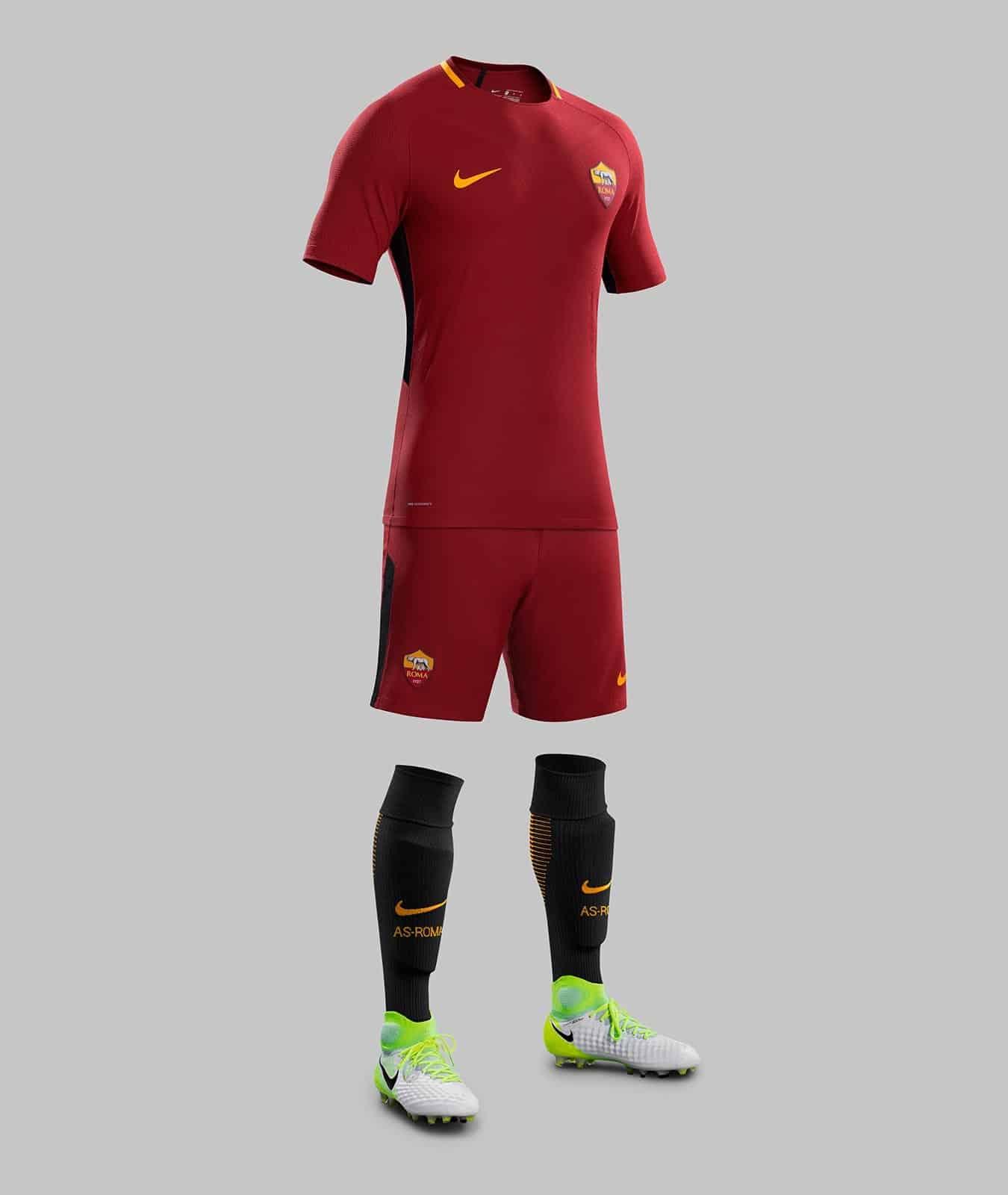 maillot-domicile-as-roma-2017-2018