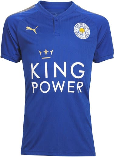 maillot-domicile-leicester-city-2017-2018