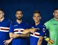 Joma dévoile le maillot domicile de la Sampdoria pour la saison 2017/2018