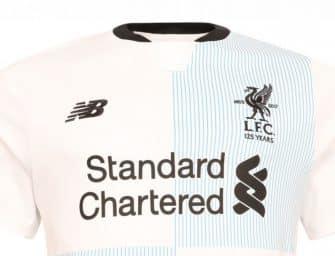 New Balance dévoile un maillot dédié aux supporters des Reds de Liverpool