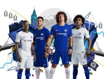 Les maillots 2017/2018 de Chelsea signés Nike