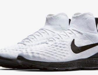 Nike dévoile la Lunar Magista II Flyknit «White/Black»