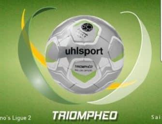 uhlsport lance Triomphéo, le nouveau ballon officiel de la Domino's Ligue 2