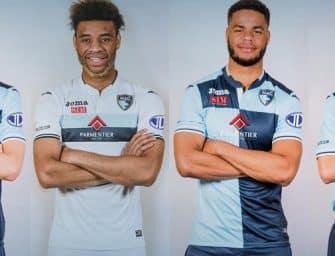 Les maillots 2017-2018 du Havre par Joma
