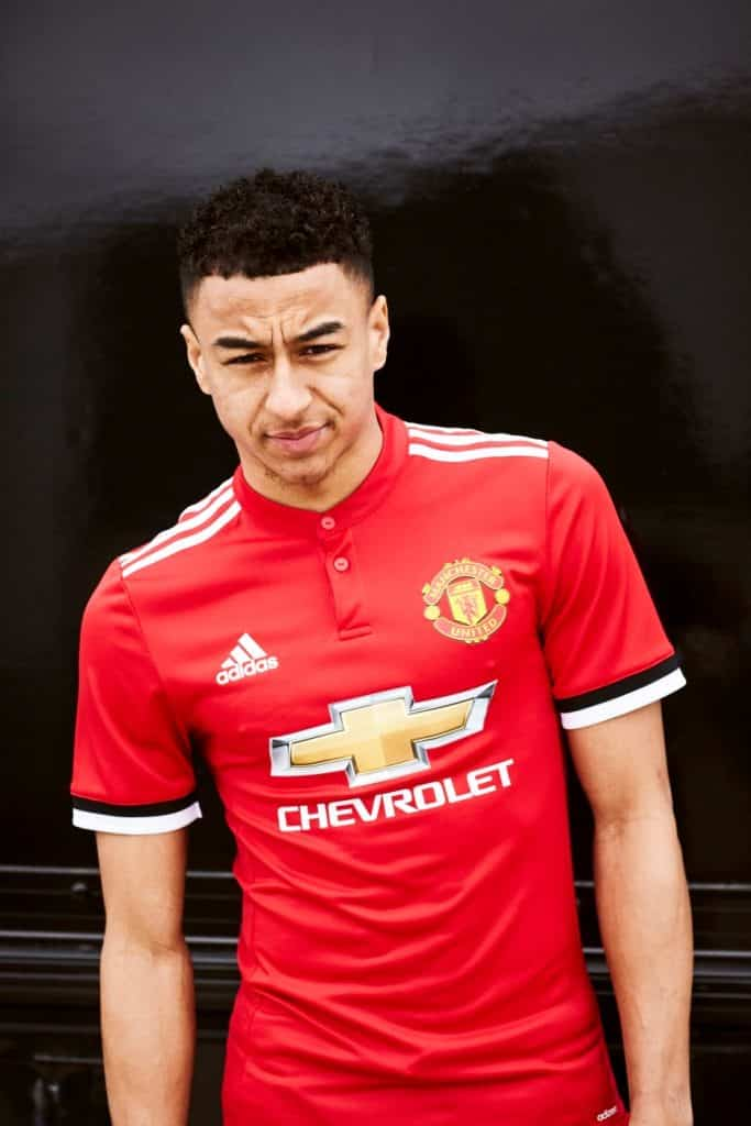 maillot-domicile-manchester-united-lingaard