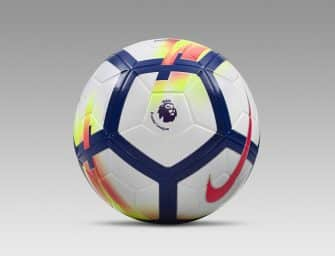 La Premier League dévoile son nouveau ballon Nike pour la saison 2017/2018 !