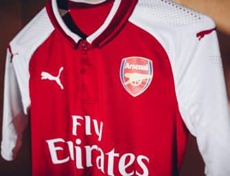 Le nouveau maillot domicile d'Arsenal pour la saison 2017/18