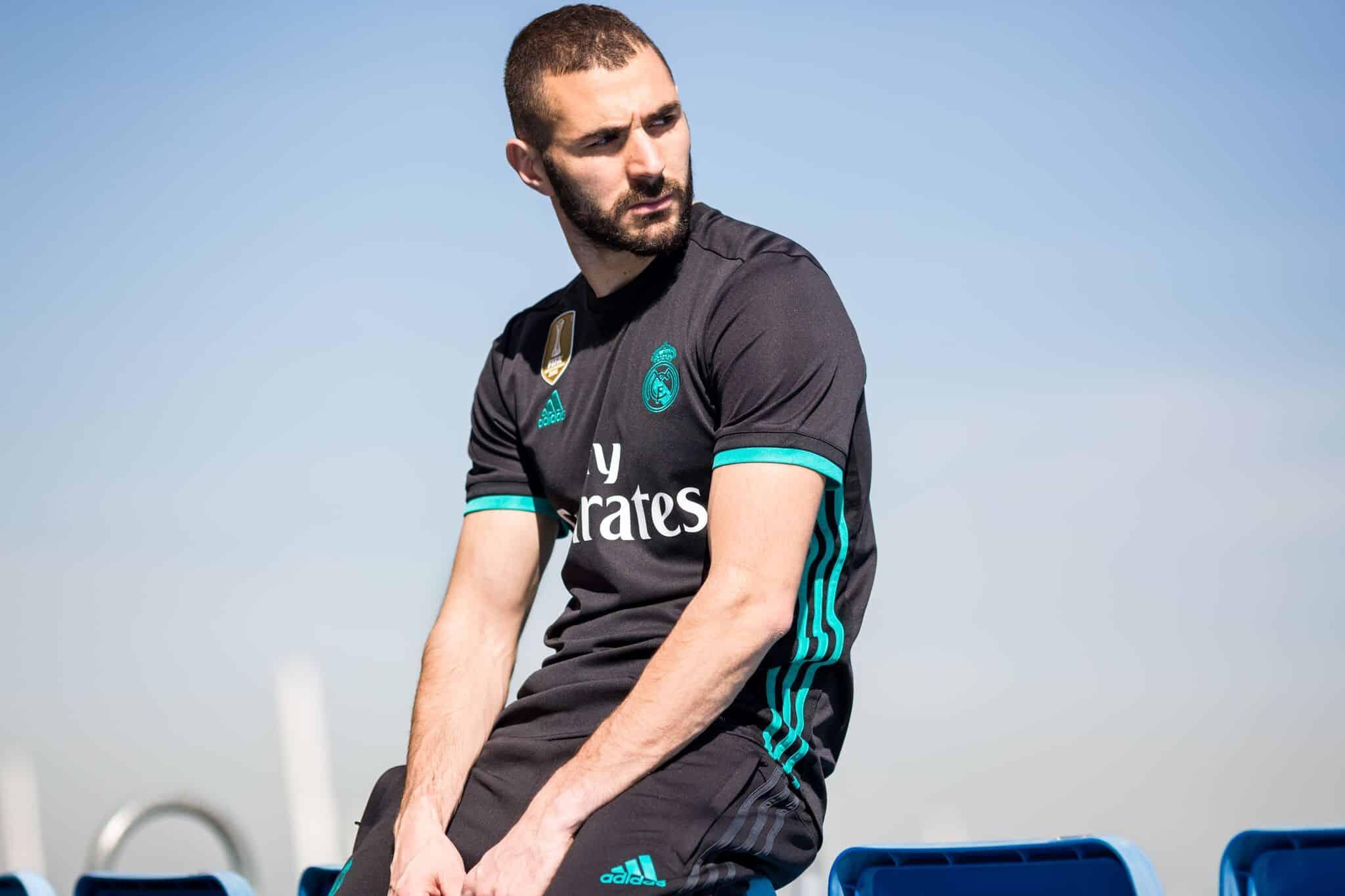 Les nouveaux maillots du Real Madrid — Officiel