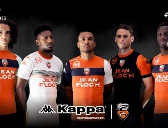 Les maillots 2017/2018 du FC Lorient par Kappa !