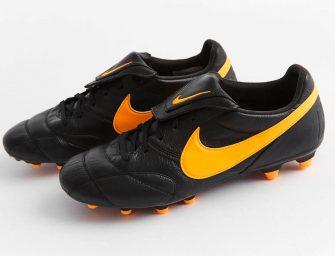 Un coloris Noir/Orange pour la Nike Tiempo Premier 2.0
