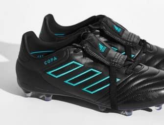 Un nouveau coloris Noir/Bleu énergie pour la Copa Gloro 17.2 d'adidas