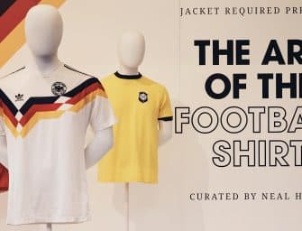 « The Art of Football Shirt », une exposition pour les fans des maillots de foot