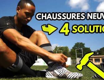 Comment bien «casser» ses chaussures de foot neuves pour les rendre plus souples