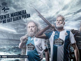Les maillots du Deportivo La Corogne pour 2017-2018