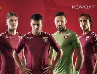 Les maillots Kappa du Torino pour la saison 2017-2018