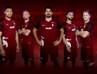 Le FC Metz dévoile ses maillots pour la saison 2017-2018