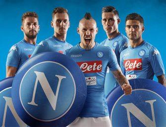 Les maillots du SSC Napoli 2017/2018 par Kappa