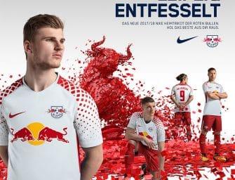 Les maillots du RB Leipzig pour la saison 2017-2018