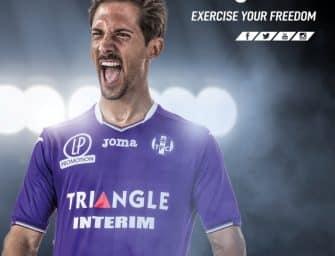 Les maillots du Toulouse FC pour la saison 2017-2018