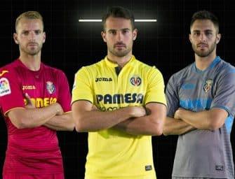 Les maillots de Villarreal pour la saison 2017/2018