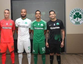 Les premiers maillots Nike du Panathinaikos pour la saison 2017-2018