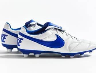 Nike lance un nouveau coloris «blanc/bleu» pour la Premier 2.0