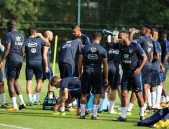Les chaussures de l'équipe de France pour affronter les Pays-Bas et le Luxembourg