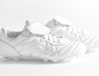 Umbro lance un coloris «Blanc Total» pour sa Speciali Eternal