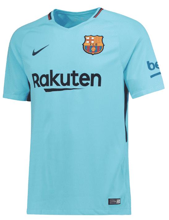 Tous les maillots 2017 2018 de la liga for Barcelone maillot exterieur