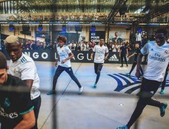 adidas met en scène des jeunes de la Tango League avec Zidane !