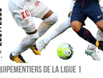 Infographie : les équipementiers de la Ligue 1 (Saison 2017/2018)