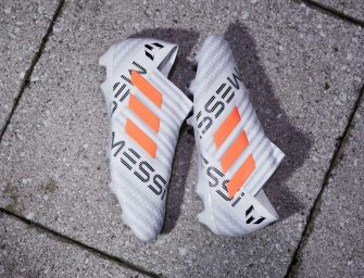 Un nouveau coloris signature pour les chaussures de Lionel Messi !