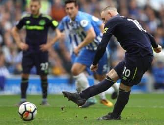 Rooney en Nike T90 Laser II – Retour vers le futur
