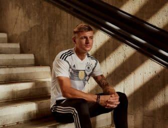 Les maillots de l'Allemagne et les chaussures des 23 joueurs pour la Coupe du monde 2018