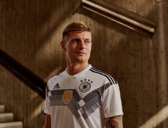 L'Allemagne présente ses maillots pour la Coupe du Monde 2018