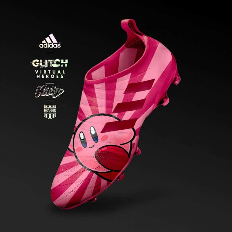 chaussure-adidas-football-glitch-heroes-kirby