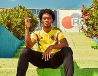 Les maillots de la Colombie et les chaussures des 23 joueurs pour la Coupe du monde 2018
