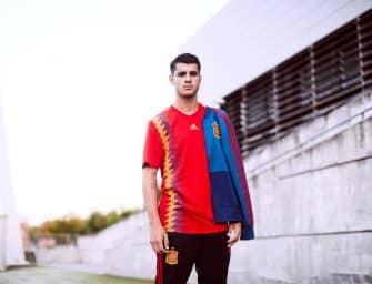 L'Espagne présente son nouveau maillot pour la Coupe du Monde 2018