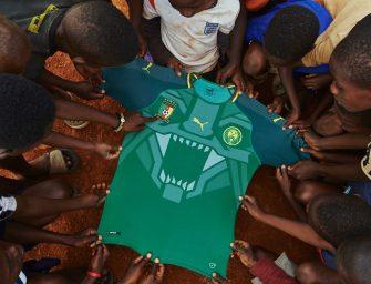 Puma lance un magnifique maillot du Cameroun pour célébrer leurs 20 ans de partenariat