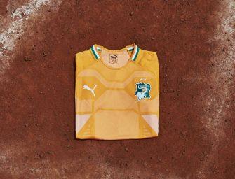 Puma dévoile le nouveau maillot de la Côte d'Ivoire