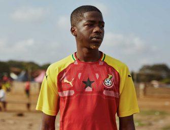 Puma dévoile le nouveau maillot du Ghana