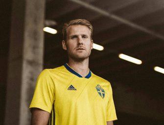 La Suède présente son nouveau maillot domicile conçu par adidas