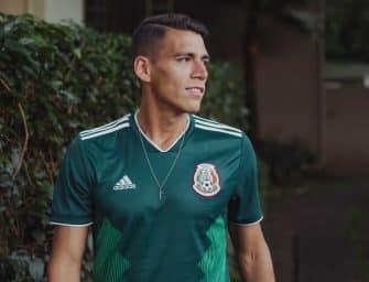 Les maillots du Mexique et les chaussures des 23 joueurs pour la Coupe du Monde 2018