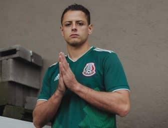 adidas dévoile le nouveau maillot du Mexique pour la Coupe du Monde 2018