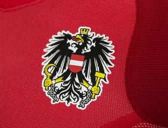 Le nouveau maillot domicile de l'Autriche par Puma