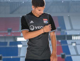 L'Olympique Lyonnais dévoile son nouveau maillot third !