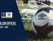 Un nouveau ballon Umbro pour la Coupe de la Ligue