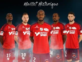 Amiens lance son maillot historique entièrement rouge