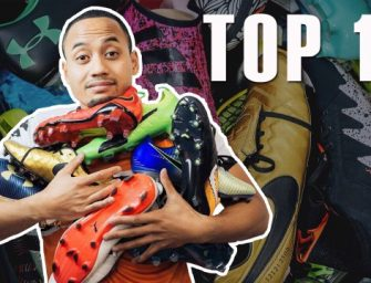 Top 10 des chaussures de foot de 2017