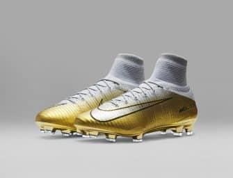Les chaussures «Ballon d'Or» de Cristiano Ronaldo